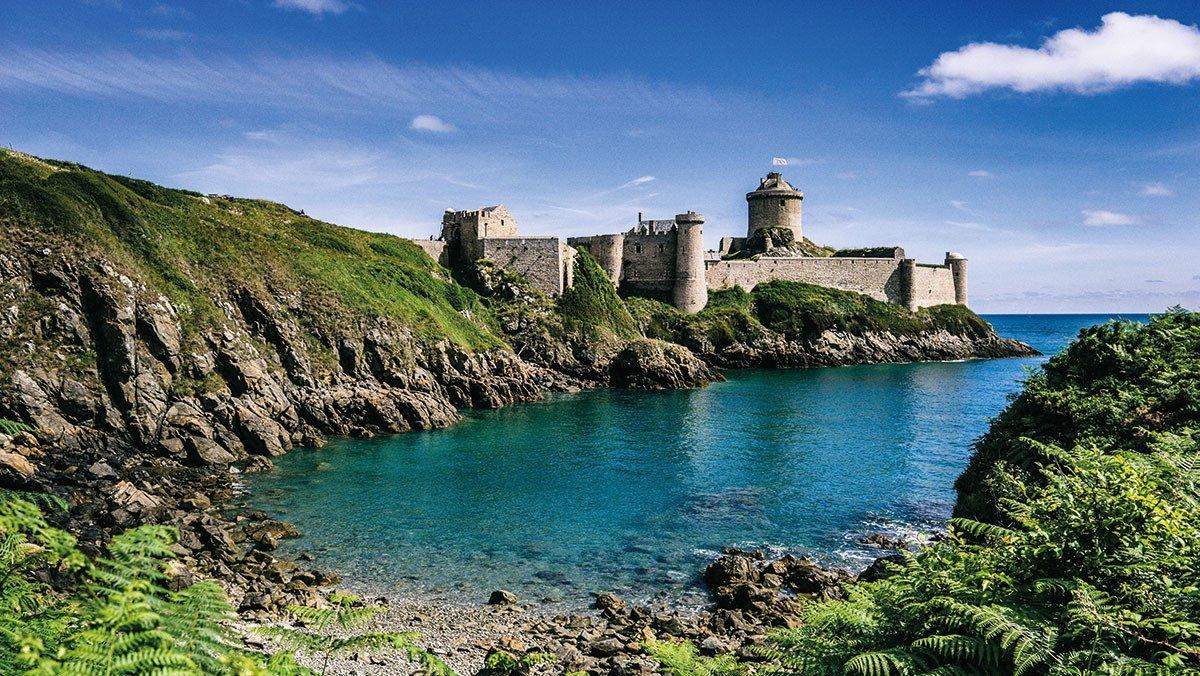Fort La Latte in der Bretagne
