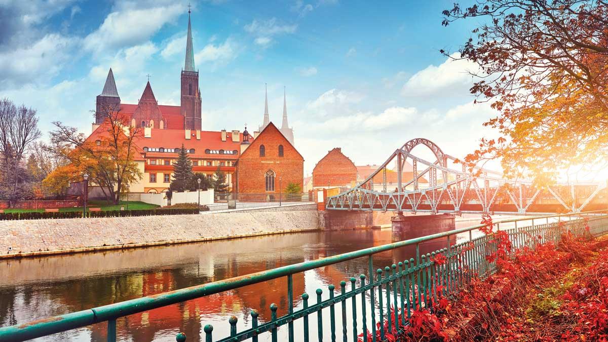 Brücke in Breslau