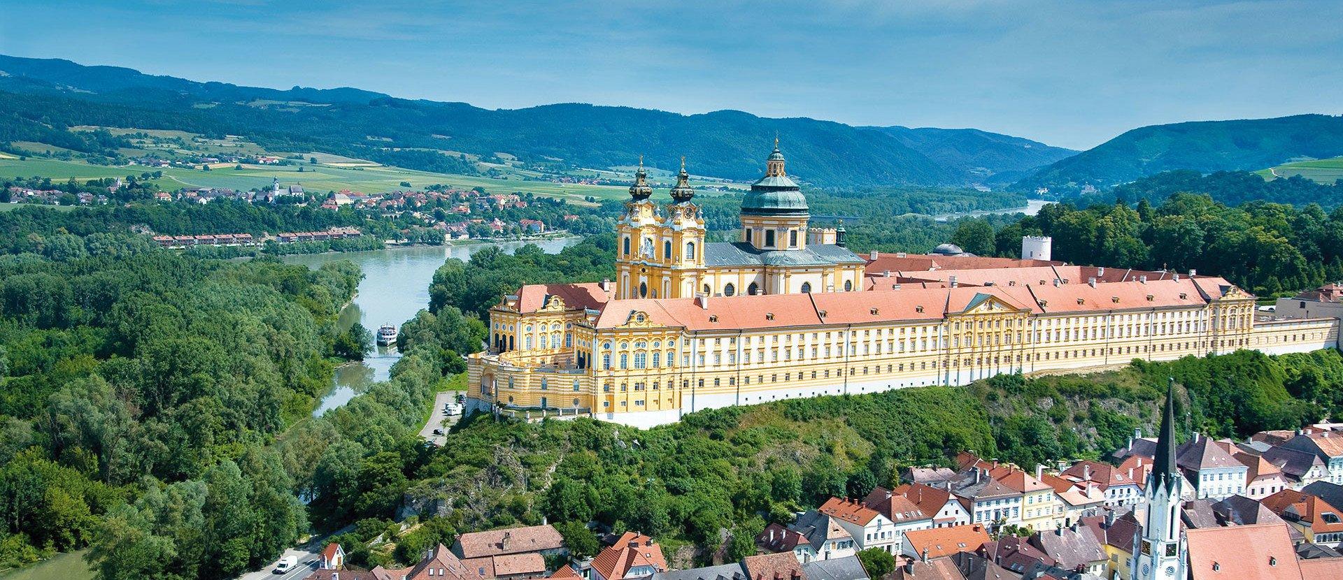 Kloster Melk in Österreich
