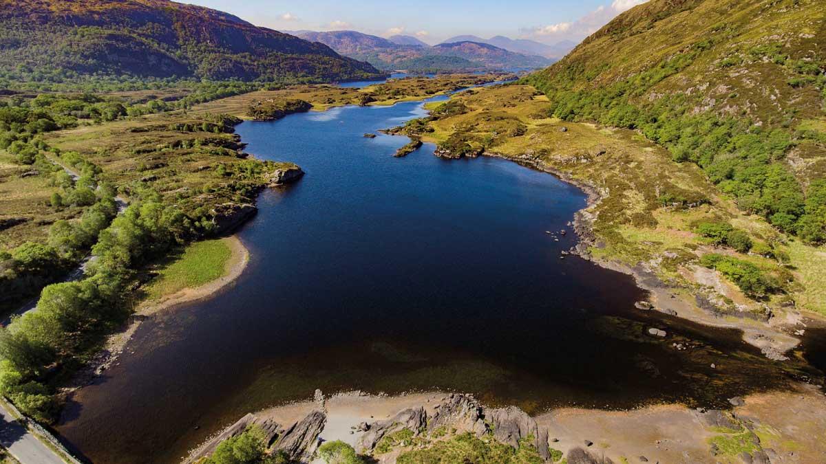 Killarney Nationalpark Panorama