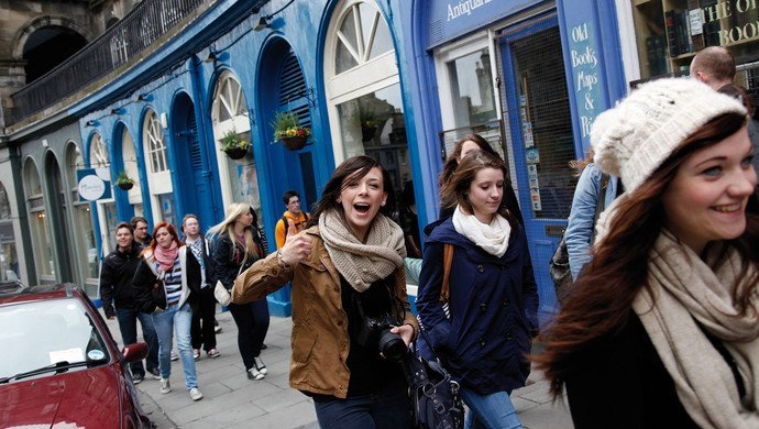 Klassenfahrt Edinburgh