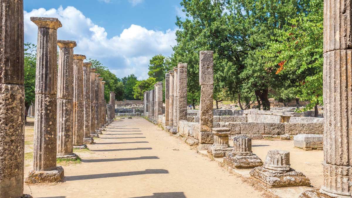 Ausgrabungsstätte Olympia