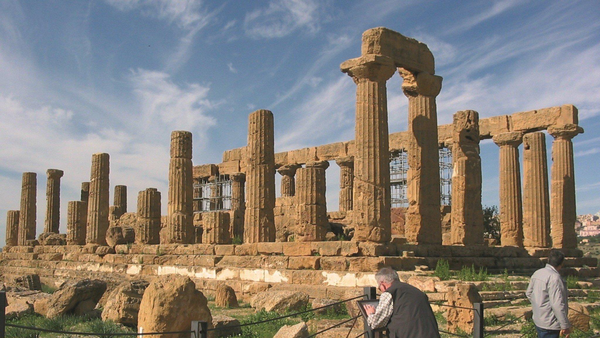 Die Tempel von Agrigent