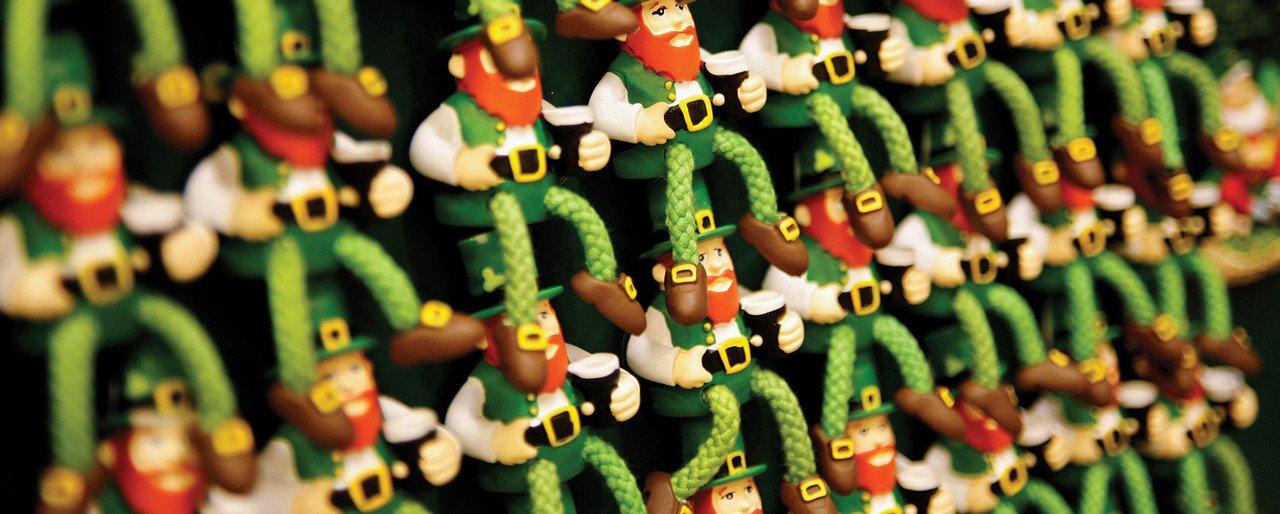 Irische Kobolde als Souvenir