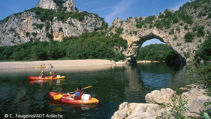 Klassenfahrt Ardèche