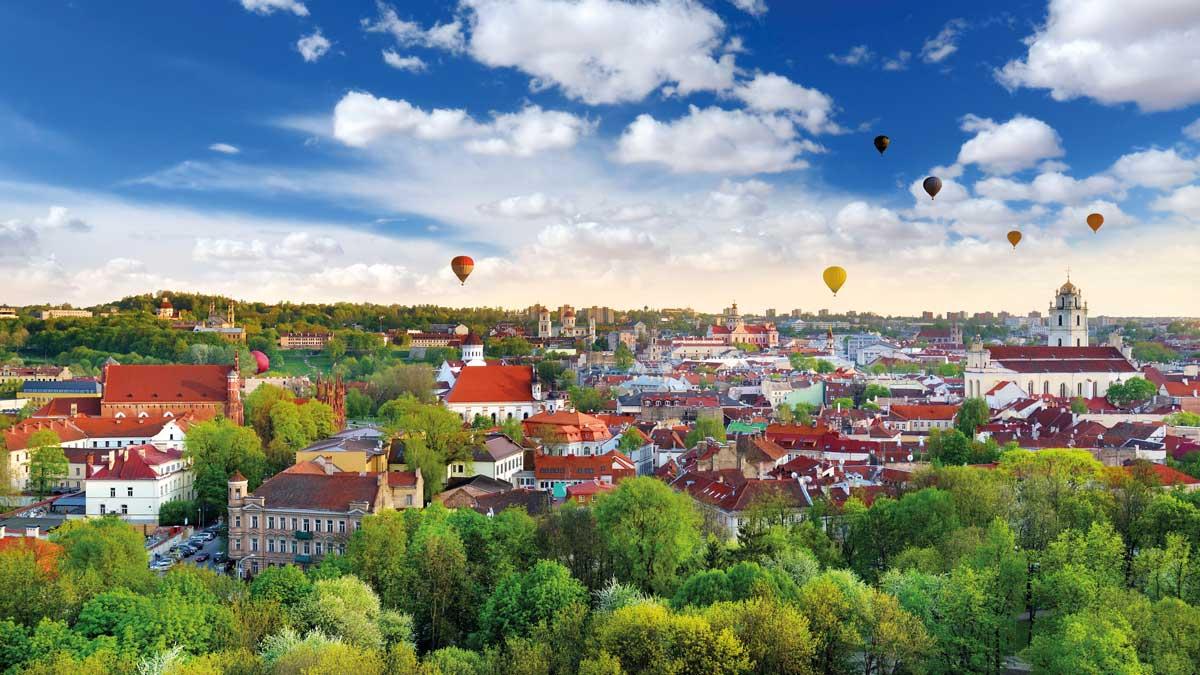 Vilnius von oben