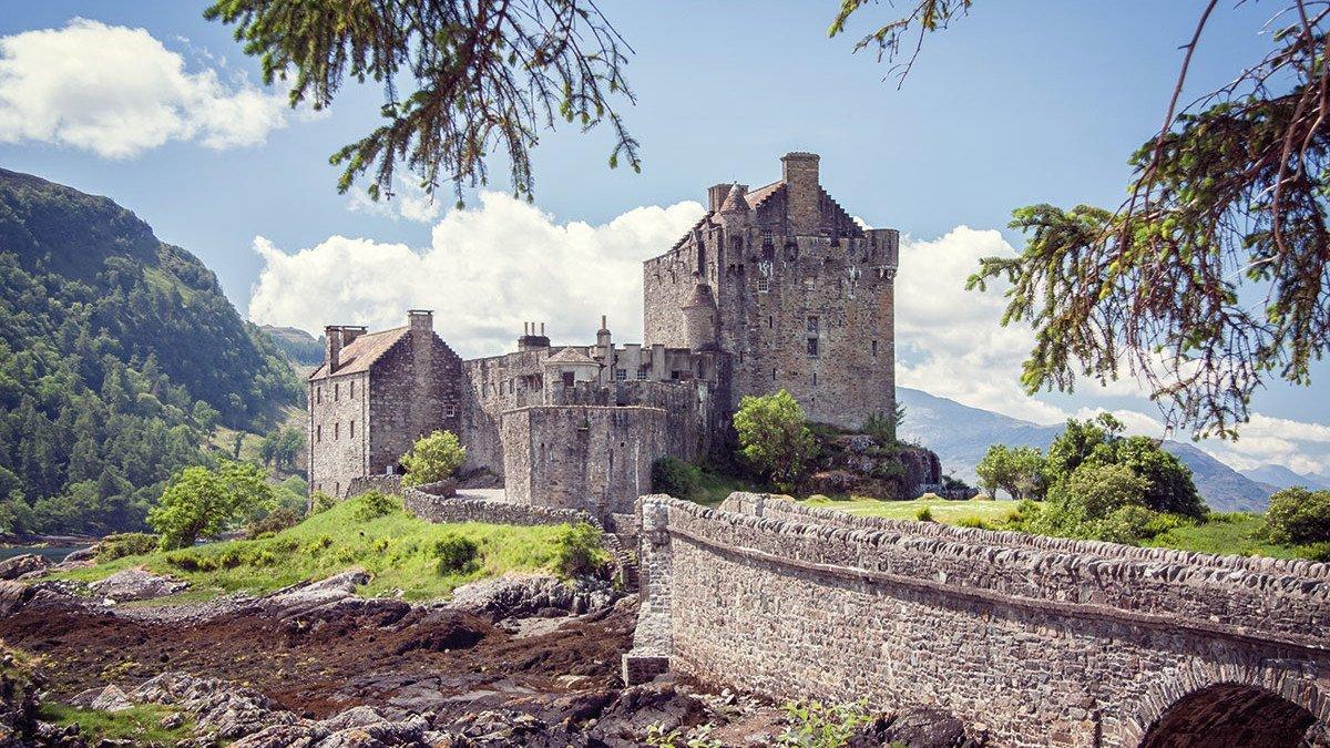Outlander Eilean Donan Castle in Schottland