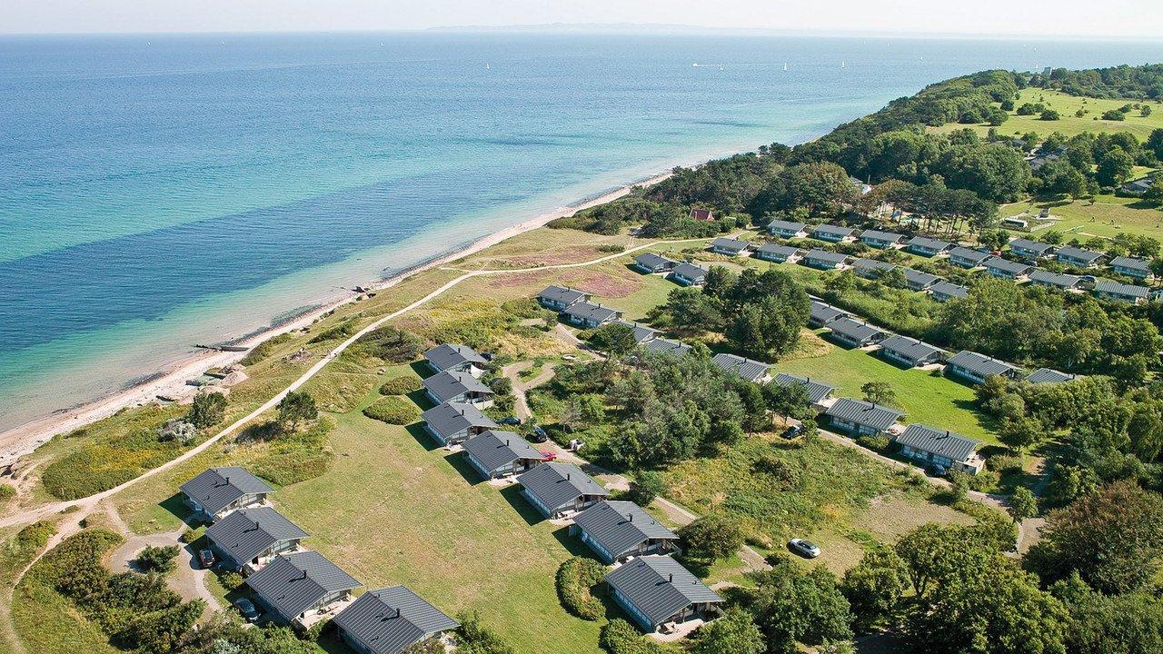 Strand von Ferienpark Gilleleje mit Bungalows