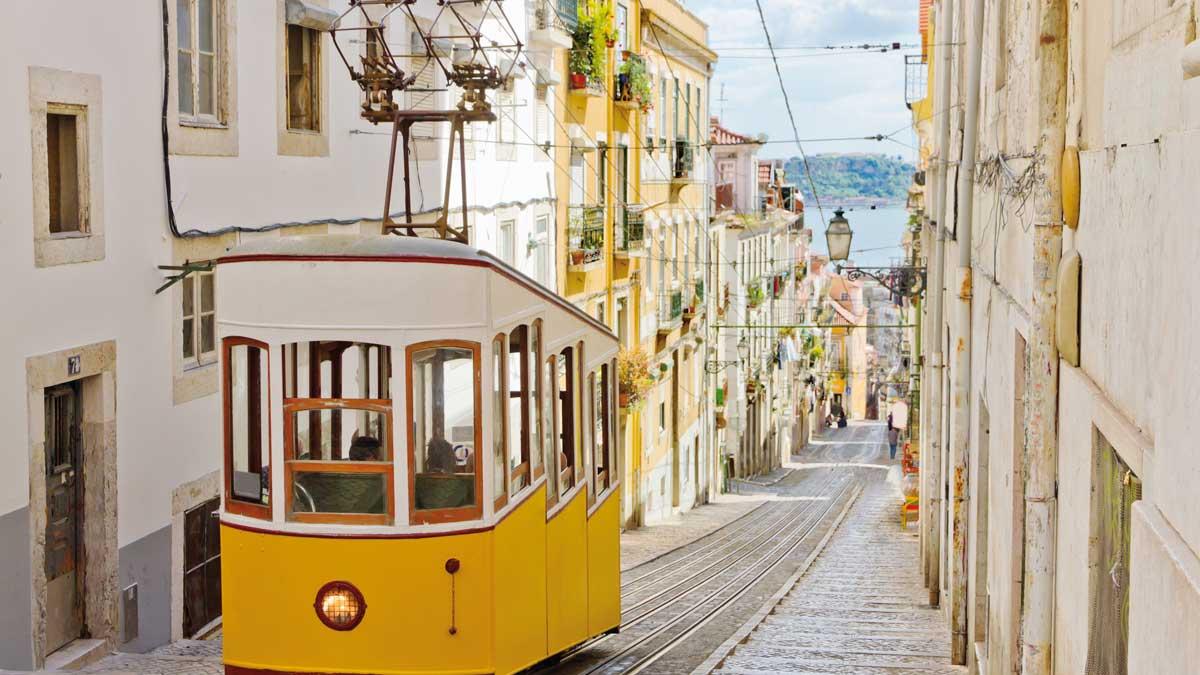Lissabons Tram