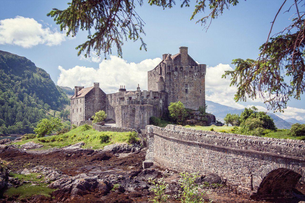 Outlander Eilean Donan Castle
