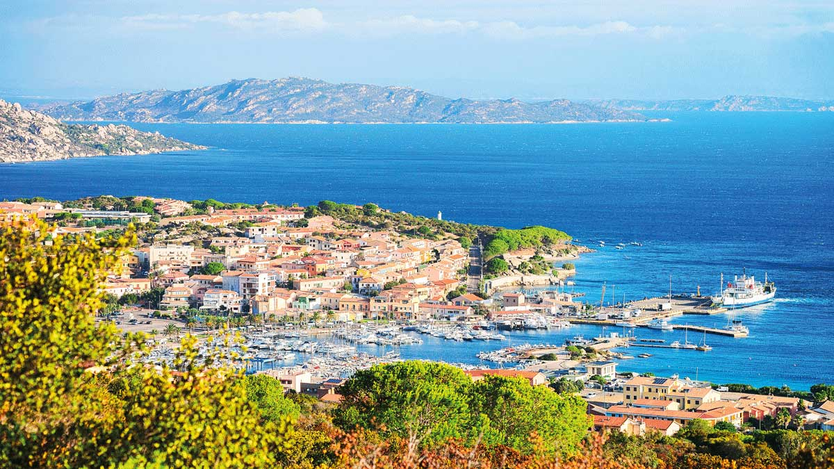 Blick auf Palau Maddalena