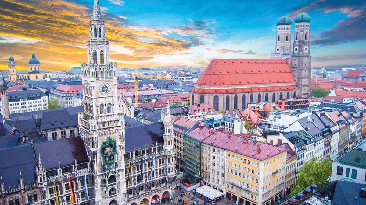 München-Stadtpanorama