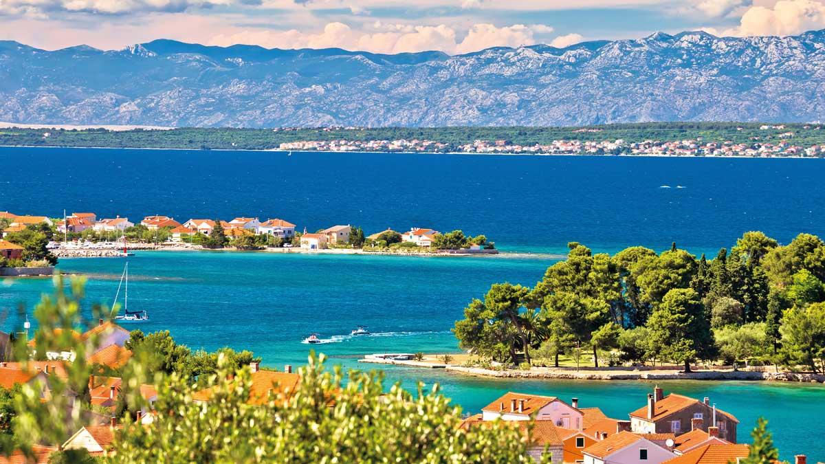 Küste von Zadar