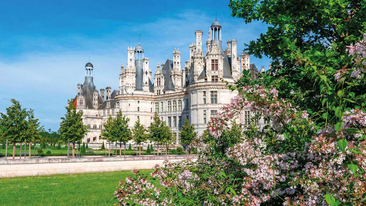 Schloss Loire Chateau Chambord