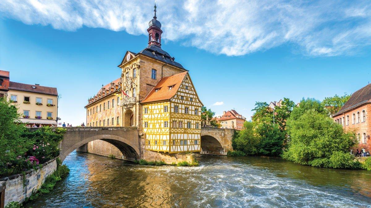 Brückenrathaus in Bamberg