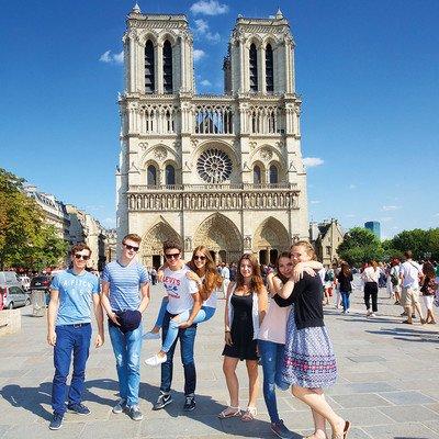 Alle Programmbausteine Paris auf einen Blick