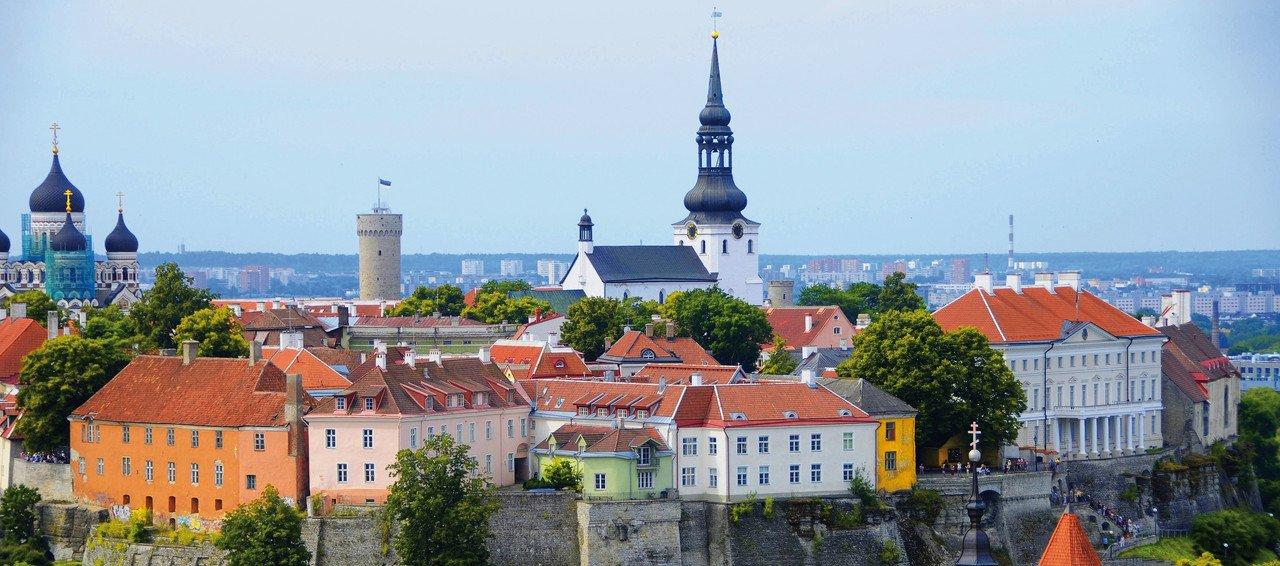 Tallinn, Estland Stadtansicht