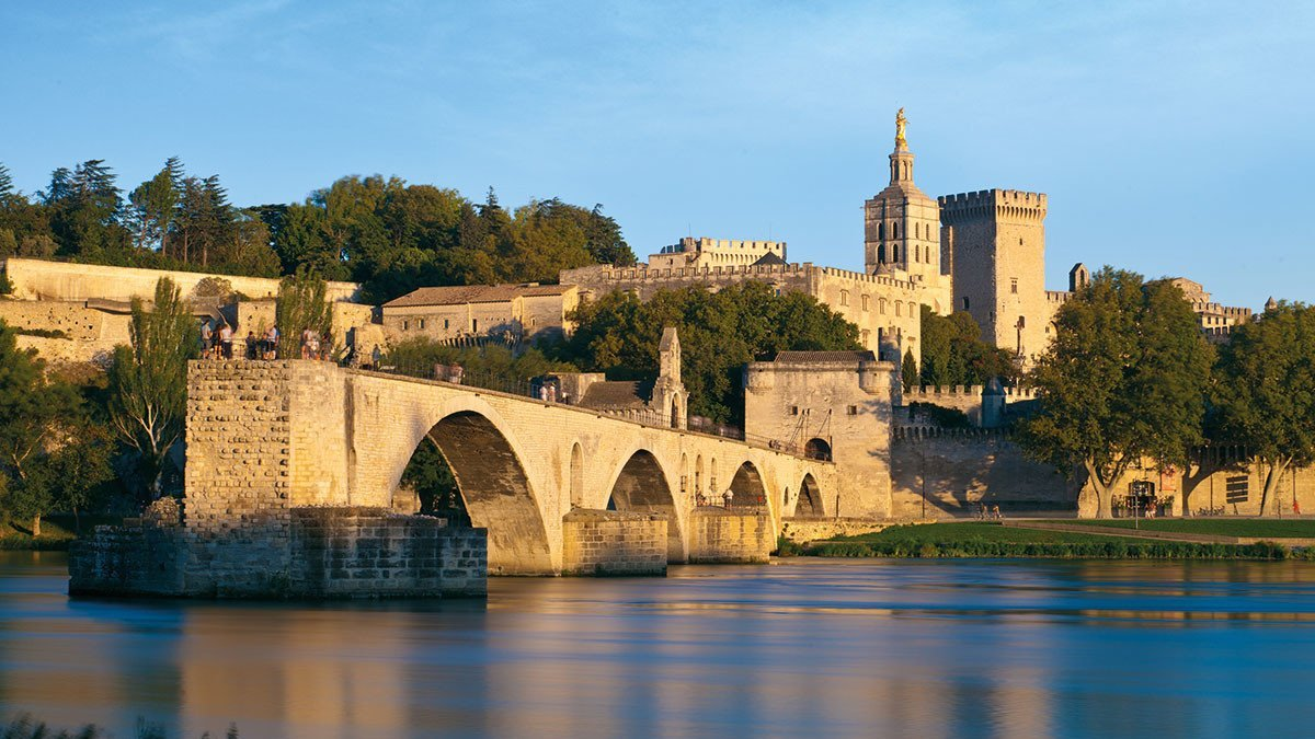 Avignons berühmte Bruecke