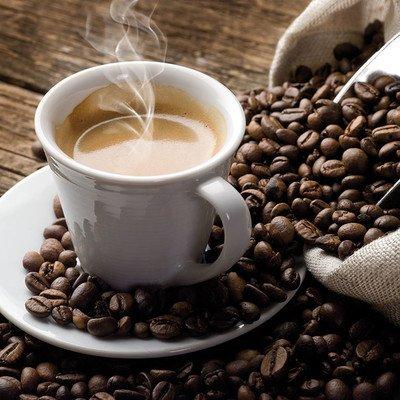 Besuch eines Kaffeehauses
