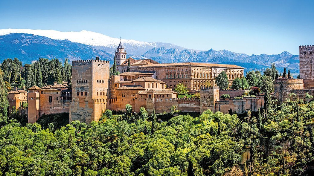 Burg in Granada