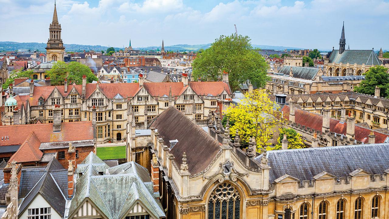 Oxford Stadtansicht