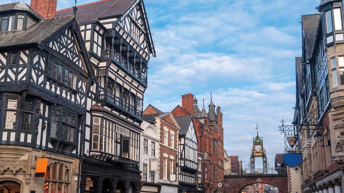 East Gate Uhr Chester