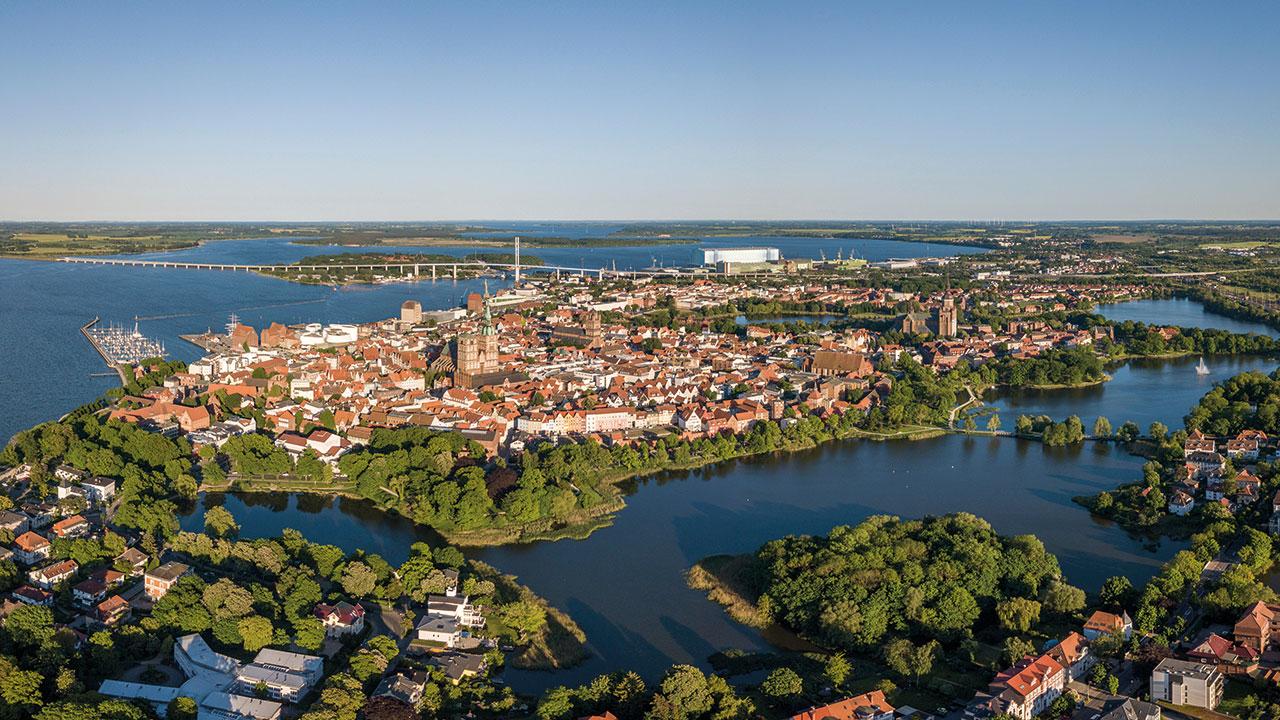 Stadtbild von Stralsund