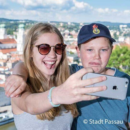 Geocaching in Passau