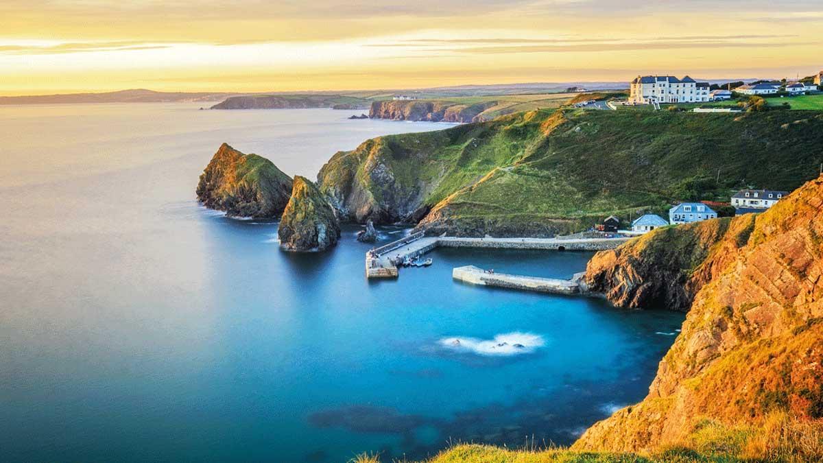 Cornwall Küste Mullion