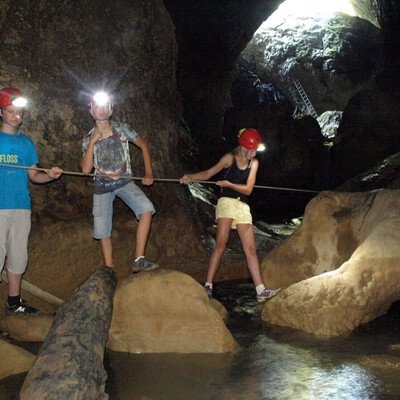 Höhlenabenteuer Pazin
