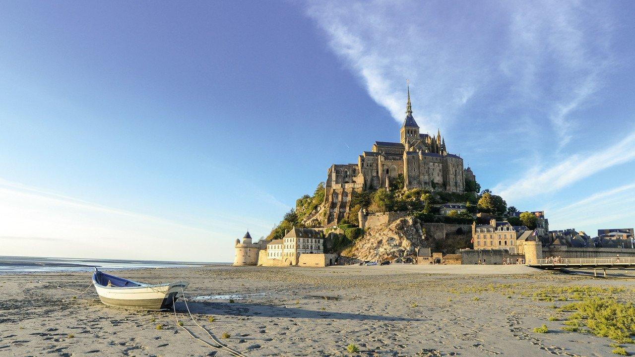 Mont St. Michel Normandie Frankreich