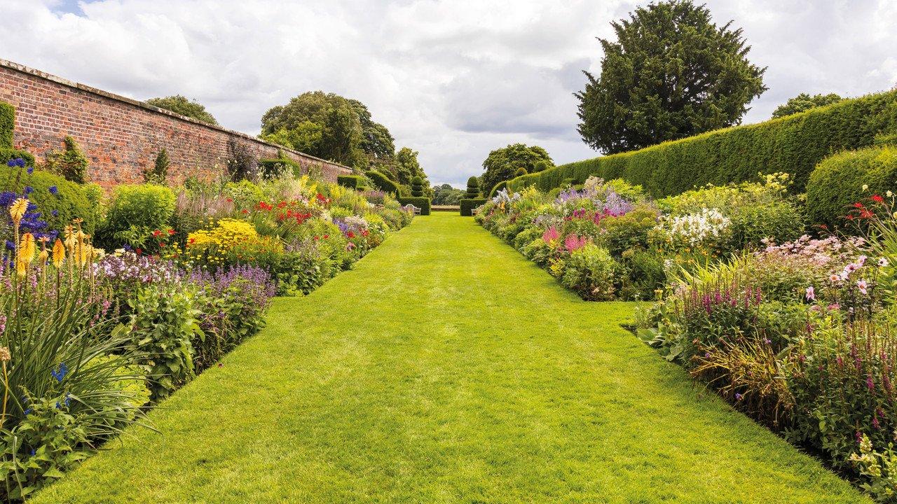 Garten in England