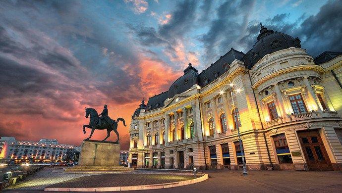 Klassenfahrt Bukarest