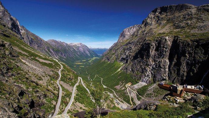 Gruppenreise Norwegens schönste Panoramastraßen
