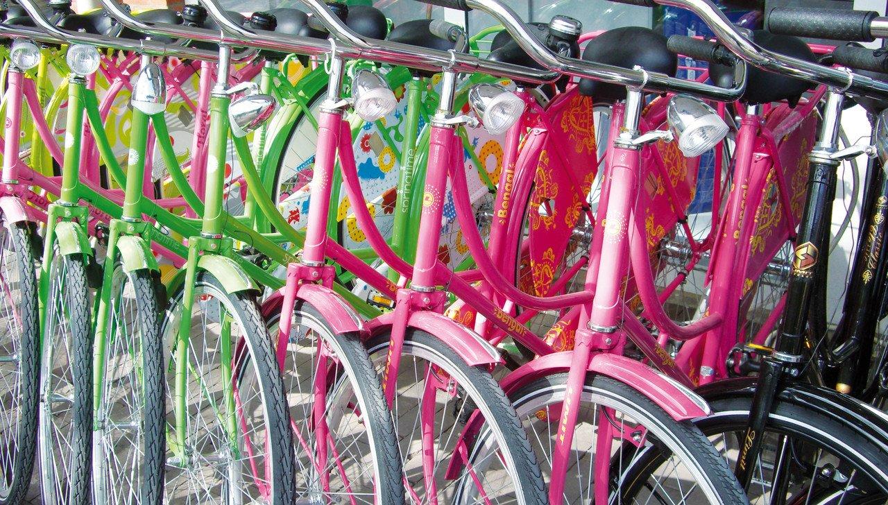 Fahrräder in Amsterdam