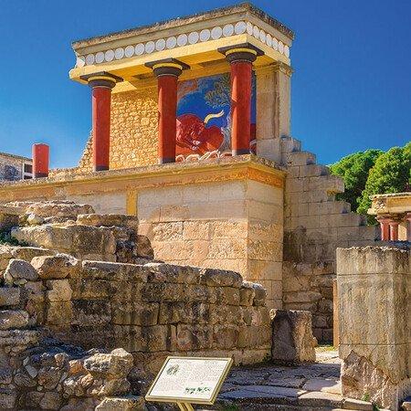 Knossos und Heraklion