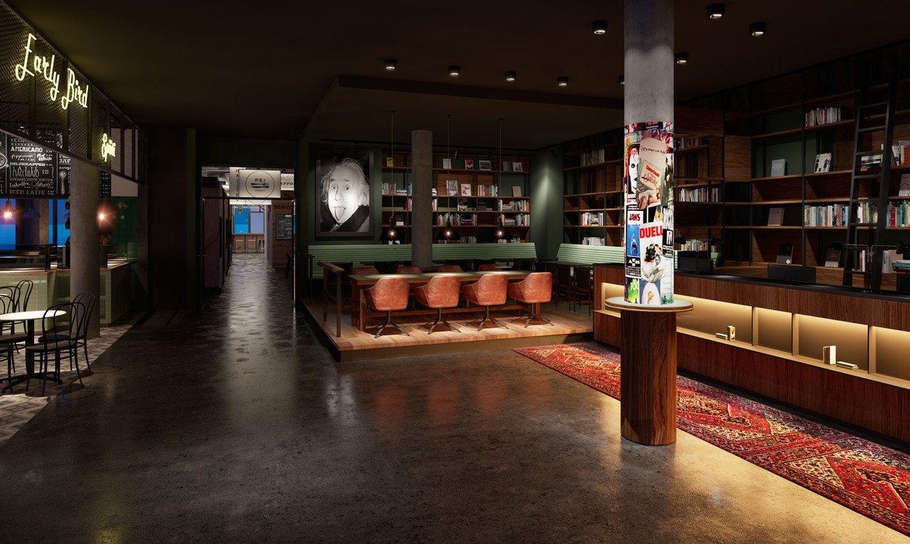 Lobby im Schulz Hotel
