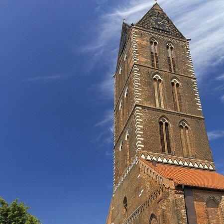 St. Marien Kirchturm in Wismar