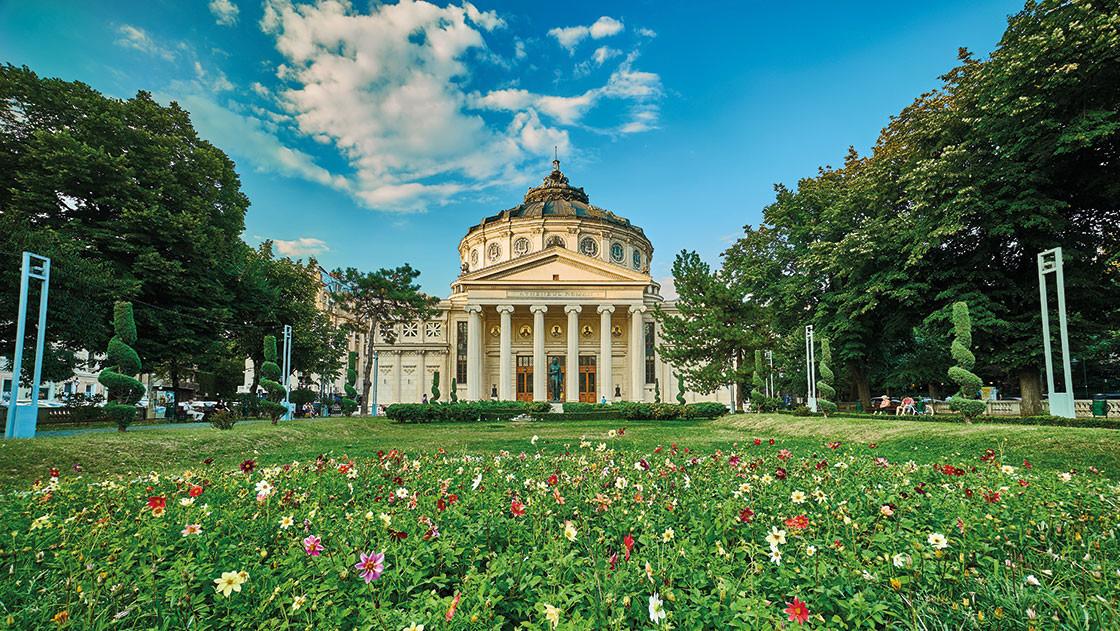 Altes Gebäude Bukarest