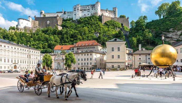 Gruppenreise Salzburg