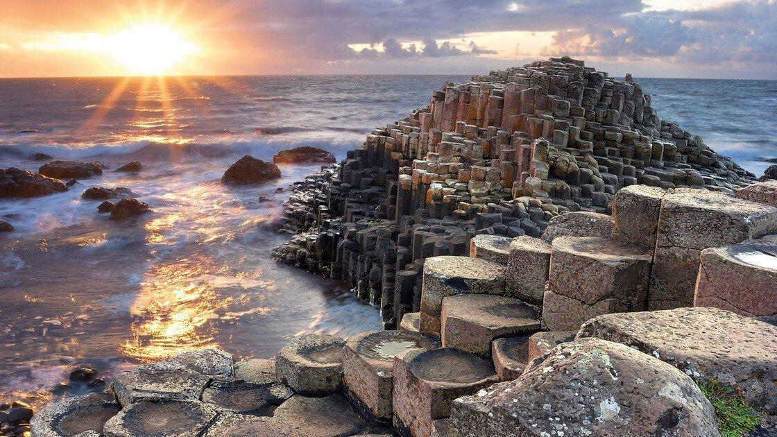 Giants Causeway in Nordirland