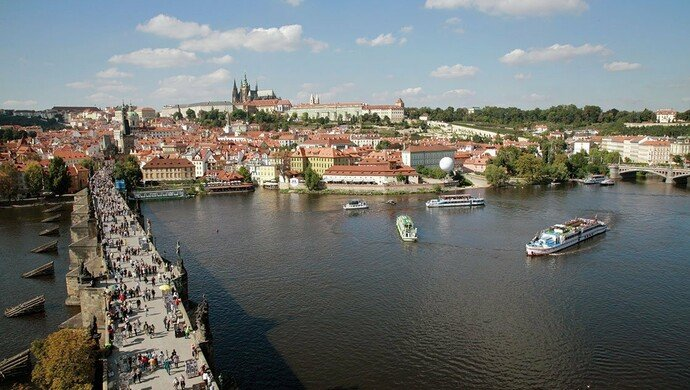 Exkursion Prag