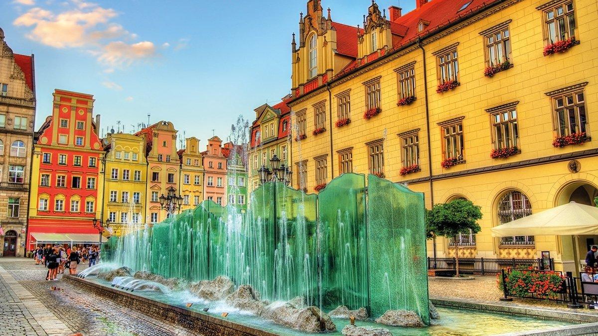 Breslau Brunnen