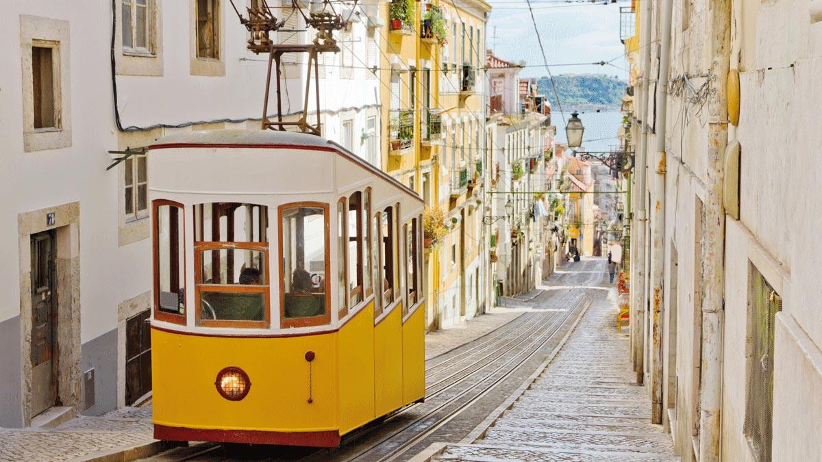 Lissabon und die Tram
