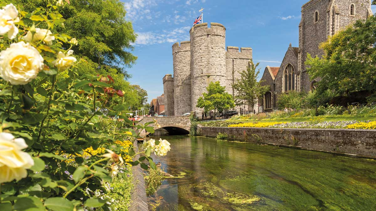 Westgate Towers in Canterbury