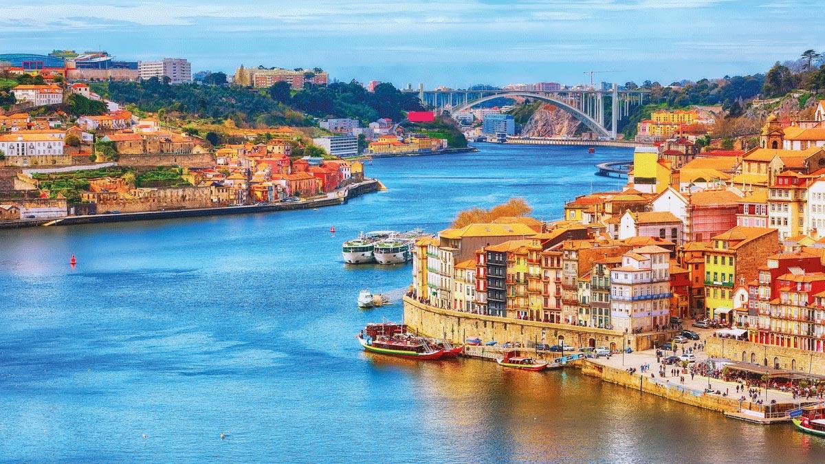Douro Stadtansicht