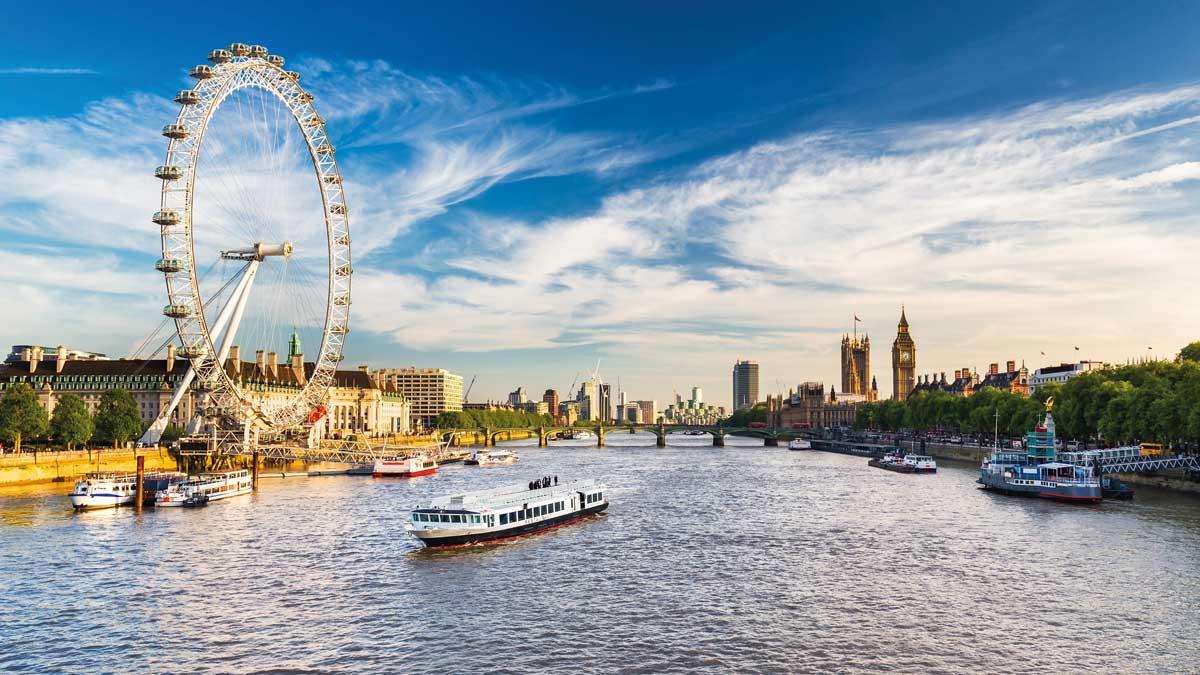 London Eye-Panorama