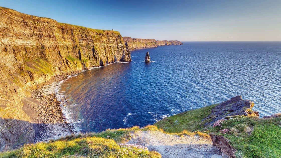 Traumhafte Küste Irlands