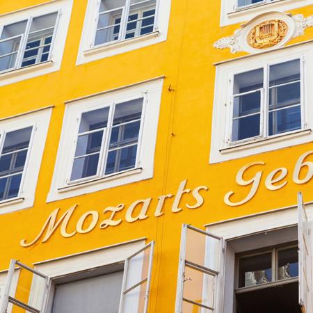 Mozarts Geburts- und Wohnhaus