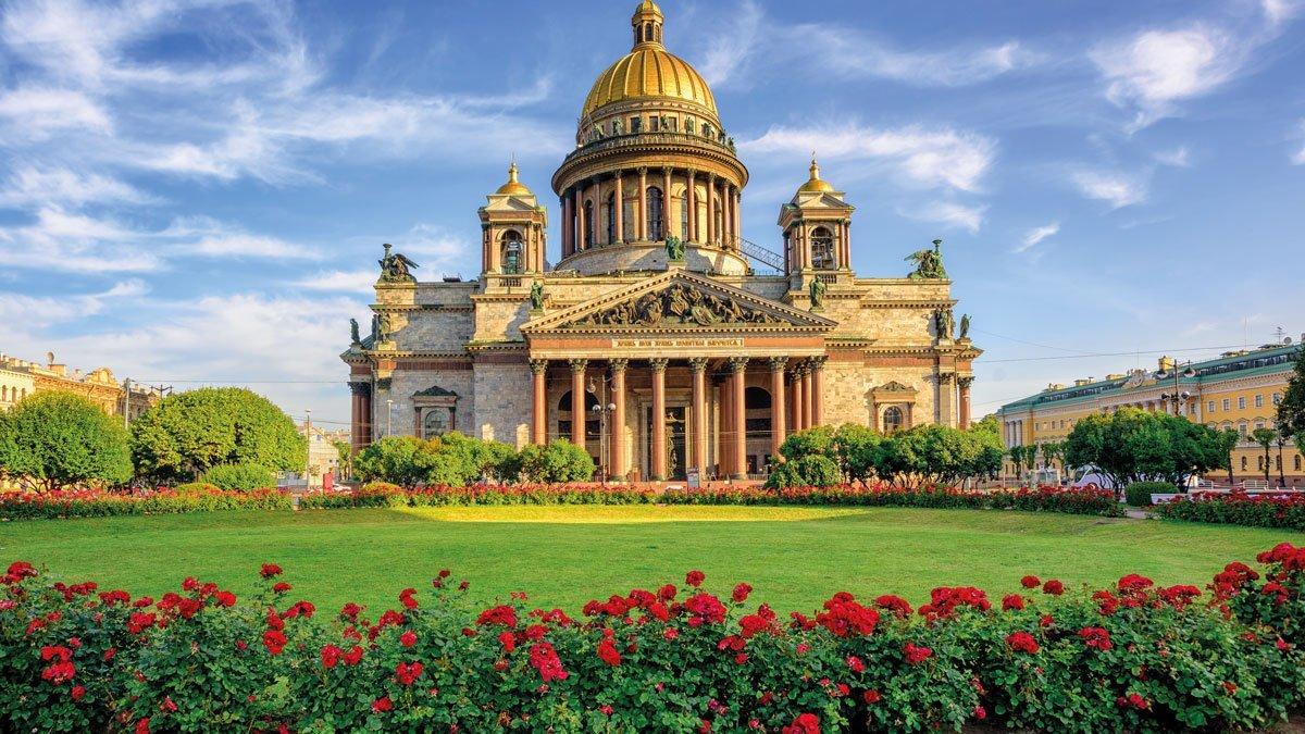 St Petersburg Peterhof - Isaak-Kathedrale
